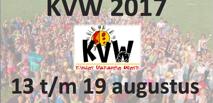 Inschrijven voor KVW 2017!